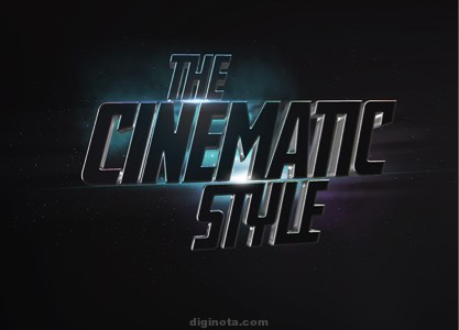 Cinematic Texto Efecto 3D
