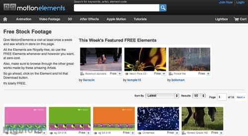 Sitios con vídeos de introducción y efectos gratuitos 1