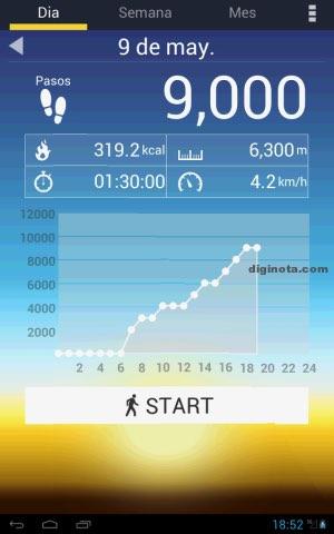 podometro apps para salud del corazón - tayutau