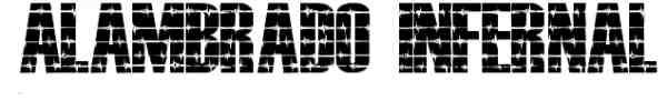 Alambrado Infernal Font 009 600x85 40 Beautiful Decorative Free Fonts for Designers