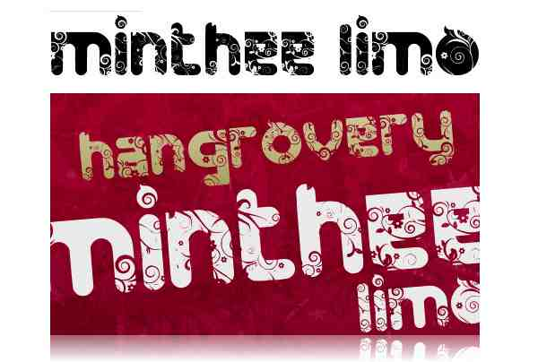 FTF Minthee Limo 004 40 Beautiful Decorative Free Fonts for Designers
