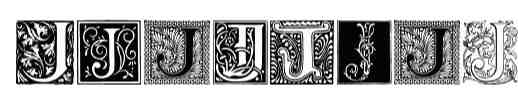 Ornamental Initials J font 0021 40 Beautiful Decorative Free Fonts for Designers