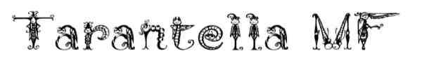 Tarantella MF Font 0010 600x93 40 Beautiful Decorative Free Fonts for Designers