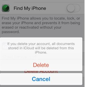 remove iCloud account without password completed