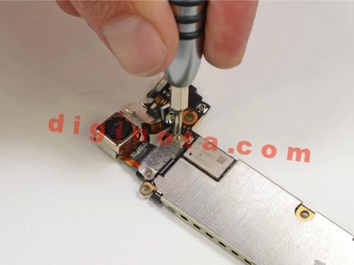 Desarmar y reparar un iPhone 5 paso a paso foto-Tutorial 17
