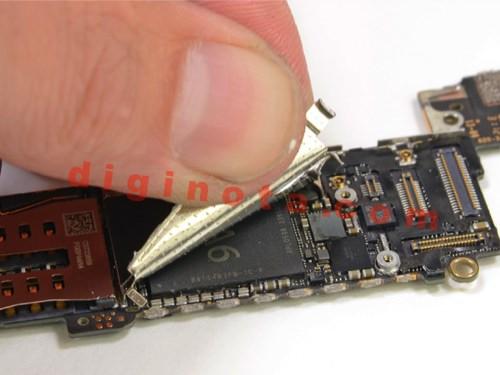 Desarmar y reparar un iPhone 5 paso a paso foto-Tutorial 20