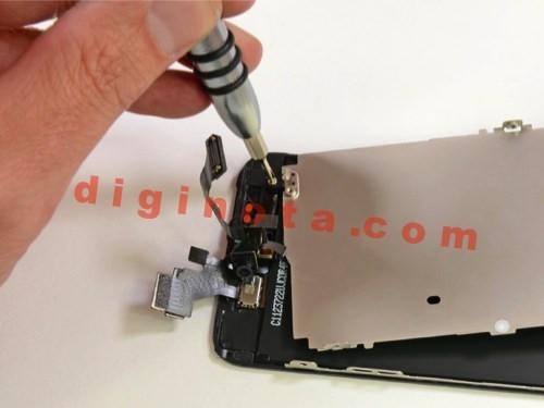 Desarmar y reparar un iPhone 5 paso a paso foto-Tutorial 42