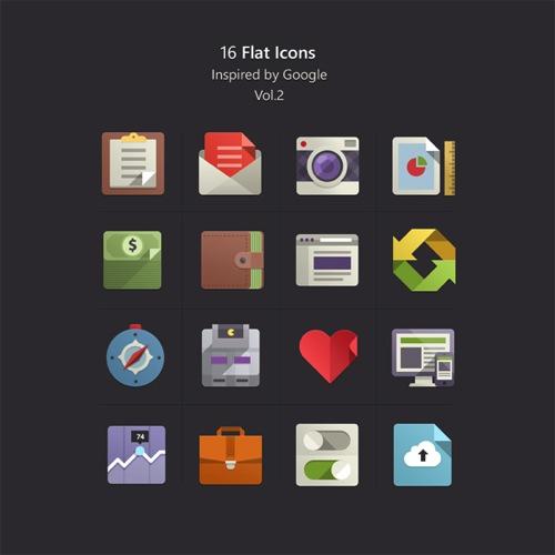 Colección de iconos o recursos gráficos para el día de San Valentin gratis 18