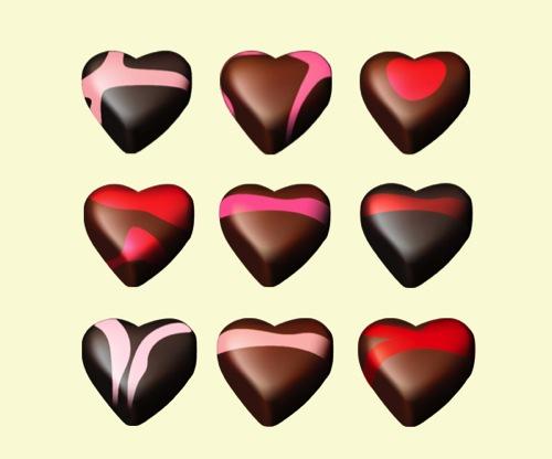 Colección de iconos o recursos gráficos para el día de San Valentin gratis 5
