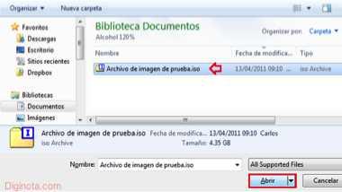 Cómo usar el ImgBurn para crear y grabar imágenes ISO  7