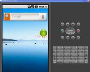 Pantalla principal emulador Android