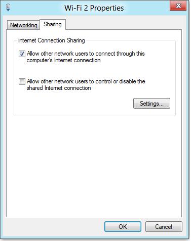 Cómo convertir una PC con Windows 8 en un punto de acceso inalámbrico 2