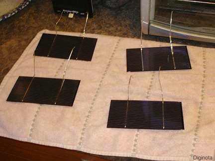 Cómo hacer un panel solar de 18 volts en casa 11