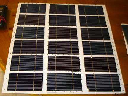 Cómo hacer un panel solar de 18 volts en casa 15