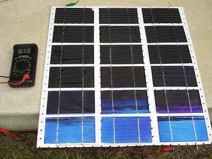 Cómo hacer un panel solar de 18 volts en casa 18