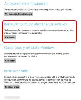 Cómo reinstalar Windows 8 sin pérdida de datos 4
