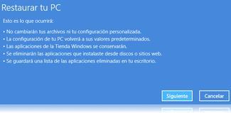 Cómo reinstalar Windows 8 sin pérdida de datos 5