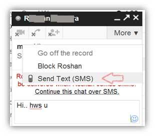 Continuar este chat a través de SMS