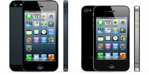 Comparativa de iPhone 4S iPhone Vs. 5