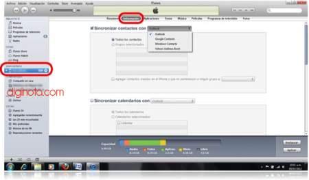 Cómo hacer para migrar contactos entre Android, BlackBerry y iPhone 14