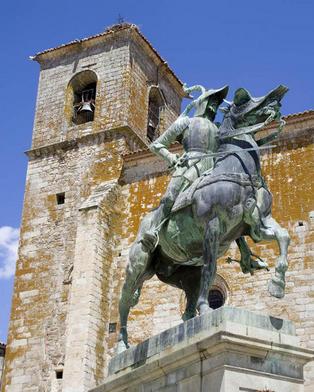 Estatua a caballo
