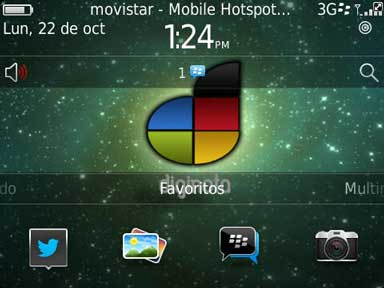 Usa como modem WI-FI el Blackberry OS 7.1  y comparte el internet o tethering 1