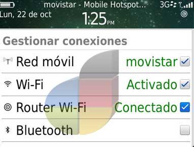 blackberry como moden hotspot