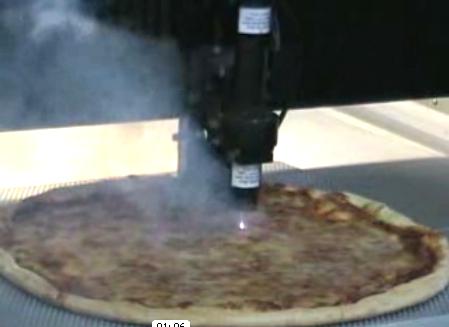 Cortador de pizza láser es un gran paso para la humanidad  1