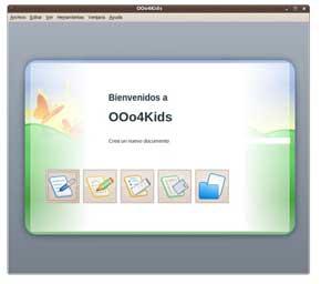 OOo4Kids, el genial OpenOffice para niños 1