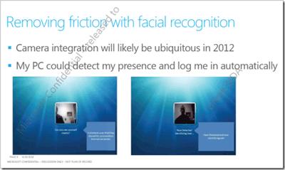 Reconocimiento facial en Windows 8