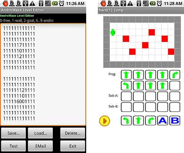 Aplicaciones para programar aplicaciones dentro de teléfonos con Android 3