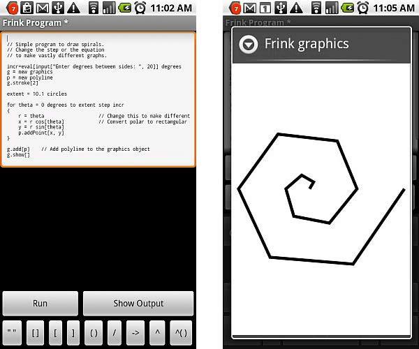 Aplicaciones para programar aplicaciones dentro de teléfonos con Android 1