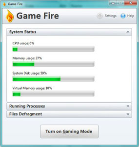 Game Fire: Optimización de Windows para juegos 1