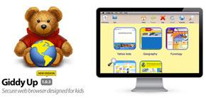 Giddy Up 1.0.3, el navegador para niños 0