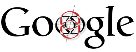 Segundo diseño del logo de Google realizado por Ruth Kedar