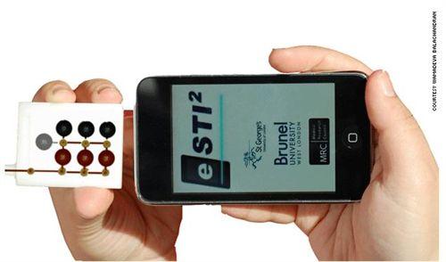 Una aplicación de 'smartphone' detecta enfermedades de transmisión sexual 1