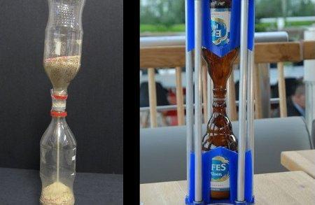 Reloj de arena casero