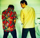 ¿Por qué los hombres se miran de reojo en los retretes?  1