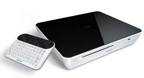 Sony Blu-ray y teclado para Google TV