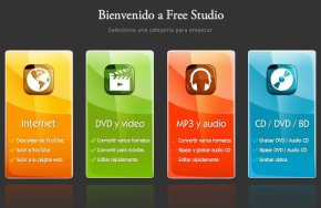 Herramientas multimedia gratis, Free Studio: Descargar 1