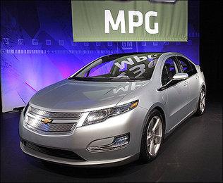 Volt, el primer vehículo eléctrico de General Motors 1