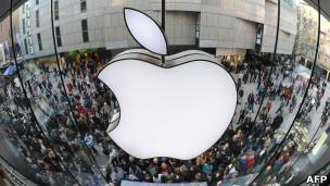Los resultados financieros más recientes de Apple sitúan sus reservas en US$76.400 millones.