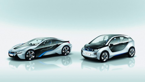BMW i se presenta con dos modelos BMW i3 Concept y BMW i8 Concept 1