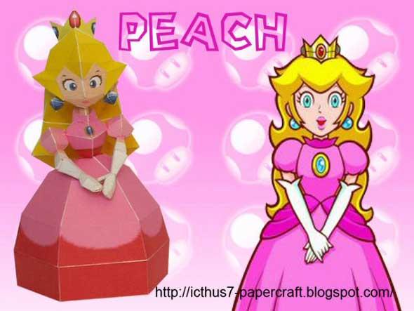 5 paper toys geeks para los amantes de Mario Bros (Figuras de Papel) 4
