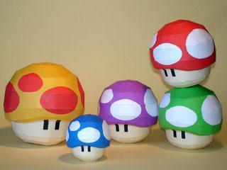 5 paper toys geeks para los amantes de Mario Bros (Figuras de Papel) 2