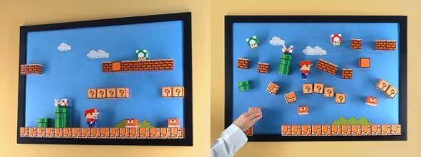 5 paper toys geeks para los amantes de Mario Bros (Figuras de Papel) 6