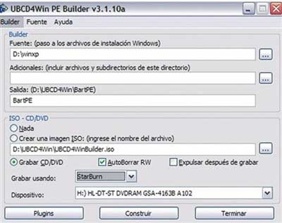 Ultimate Boot CD for Windows 3.60 detalle 4