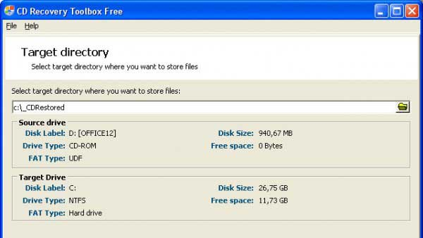 Recupera archivos borrados de discos CD-RW, DVD-RW, Blu-Ray 0