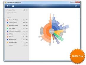 Visualiza y administra el espacio de tus discos duros con estilo 1