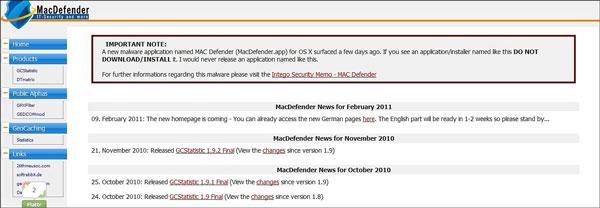 Un programa antimalware falso tienta a los usuarios de Mac OS 1